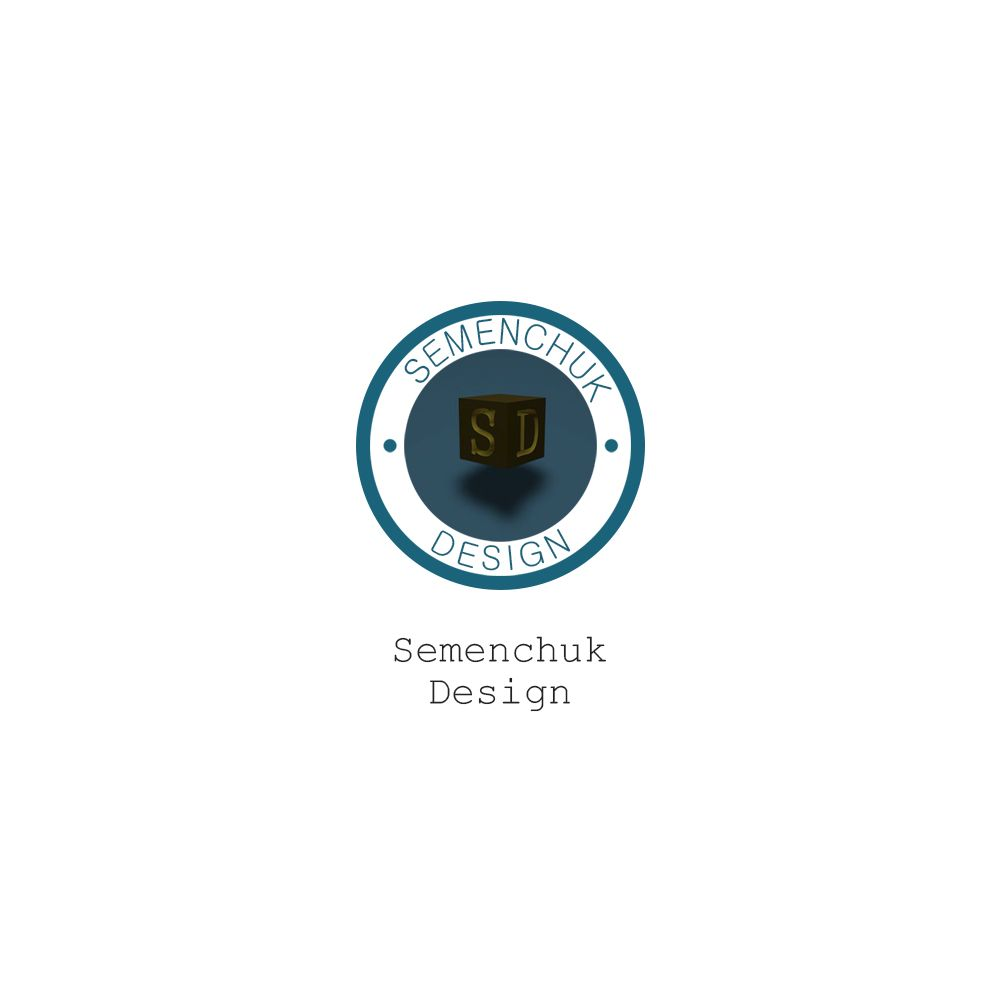 Логотип группы компаний SEMENCHUK - дизайнер endenole