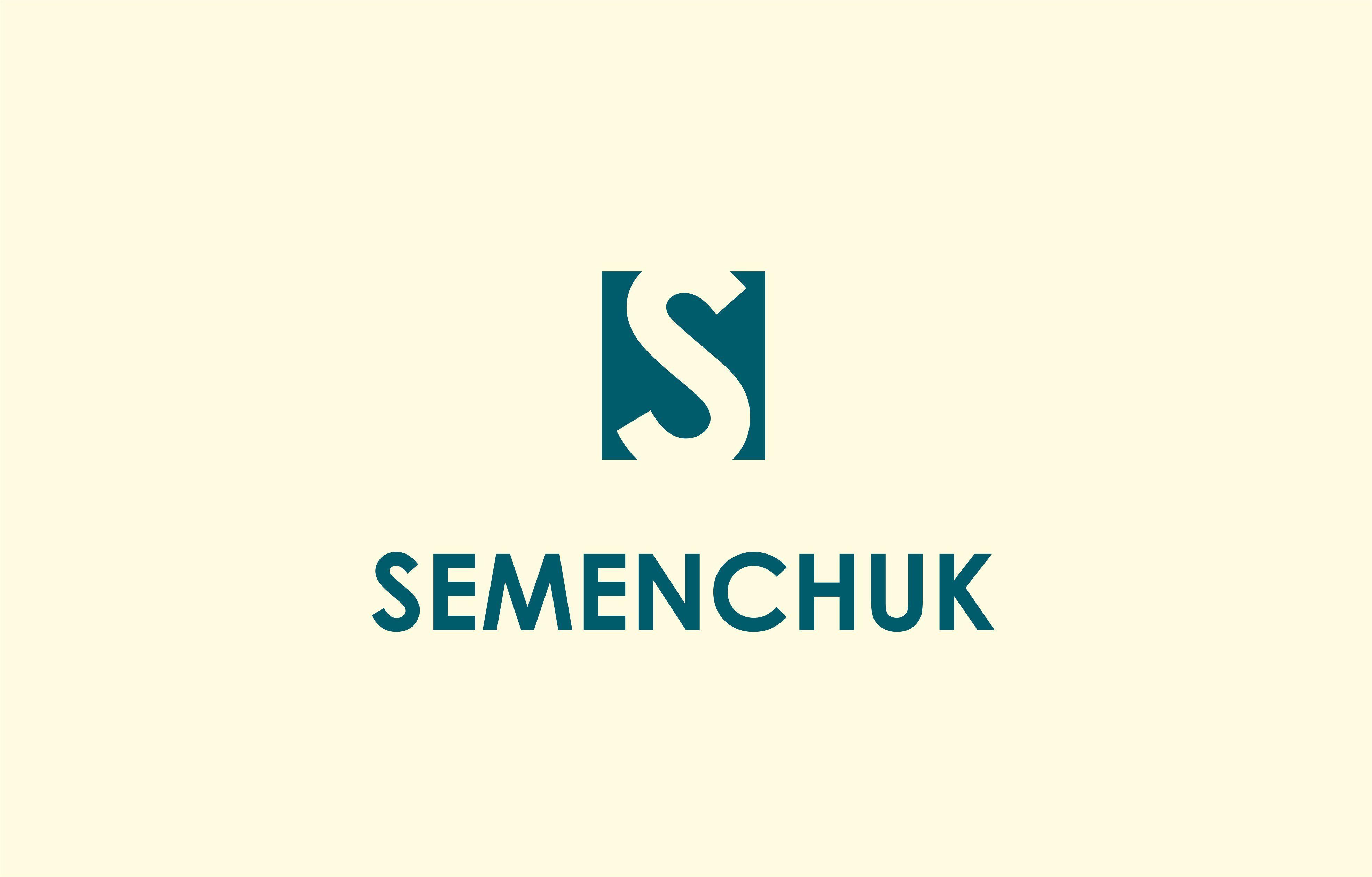 Логотип группы компаний SEMENCHUK - дизайнер lum1x94