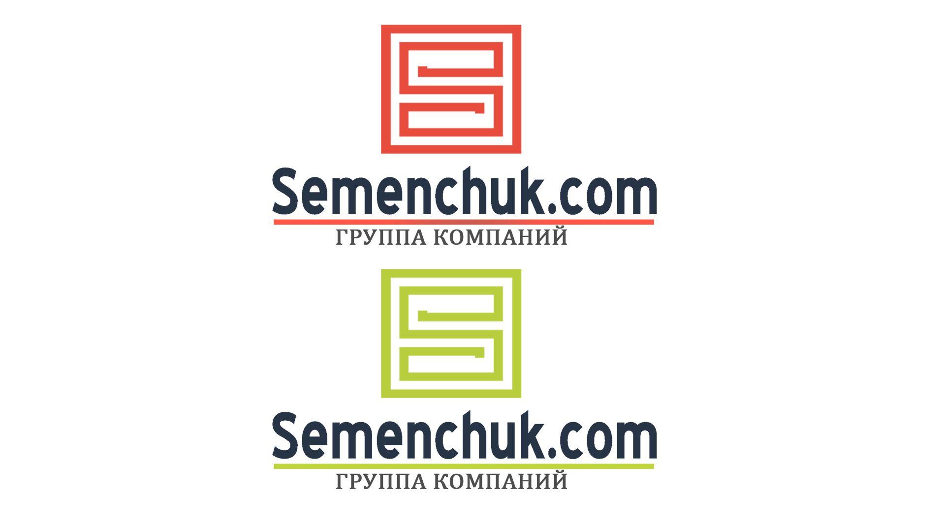 Логотип группы компаний SEMENCHUK - дизайнер RayGamesThe
