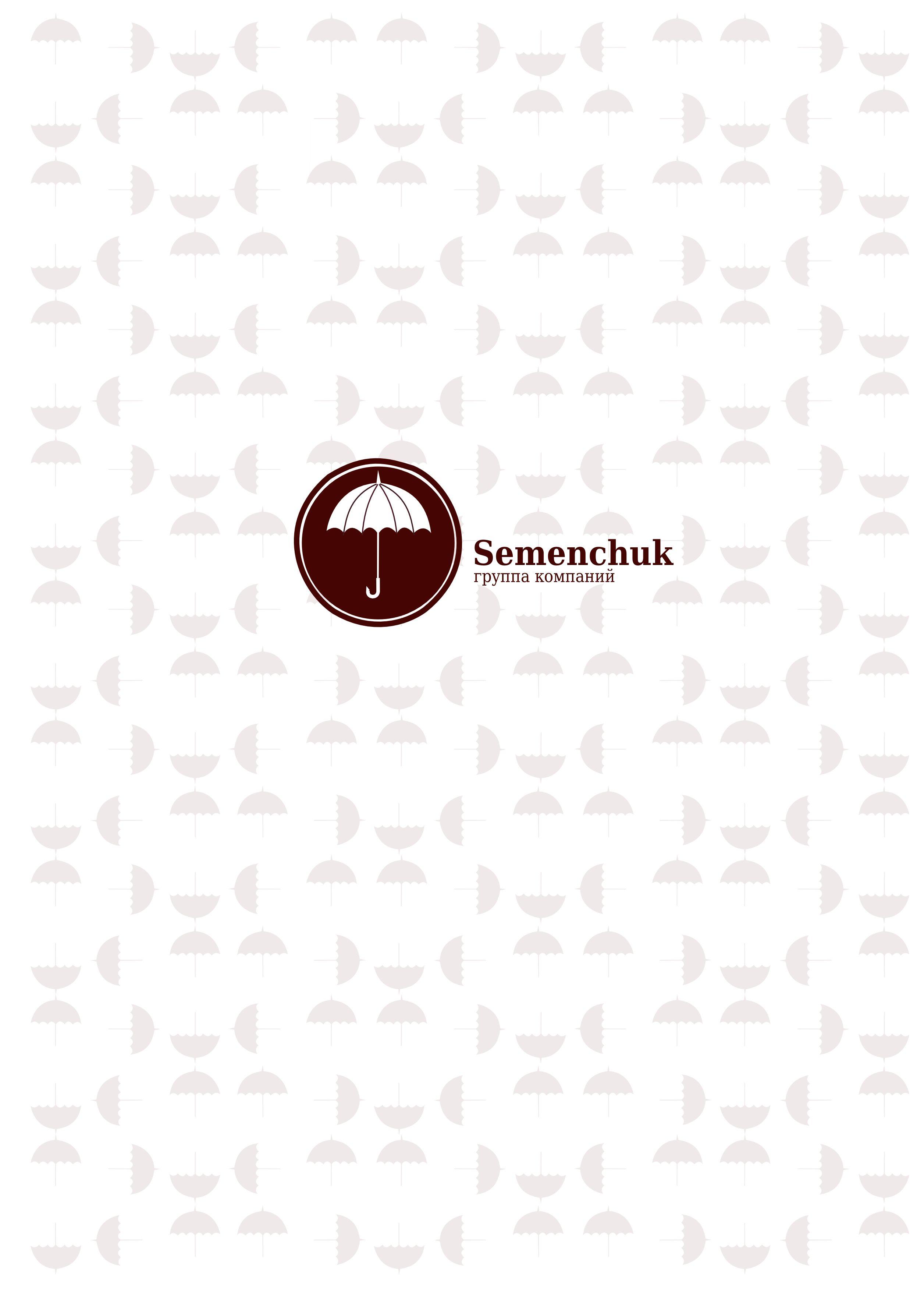 Логотип группы компаний SEMENCHUK - дизайнер Evgenij