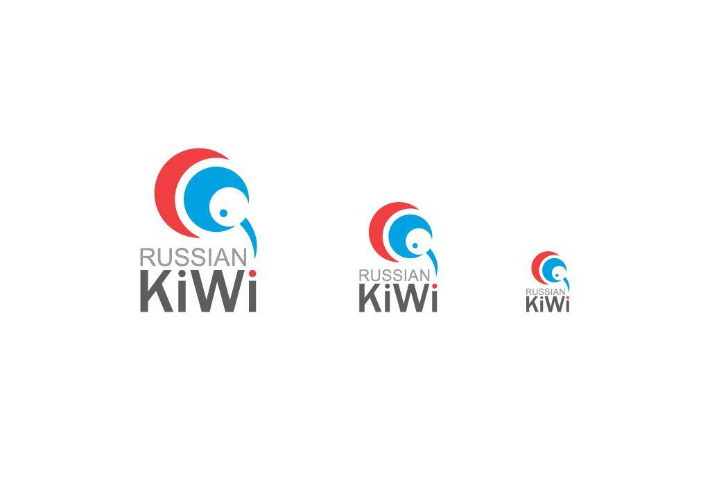 Логотип форума русских эмигрантов в Новой Зеландии - дизайнер WhiteRabbit