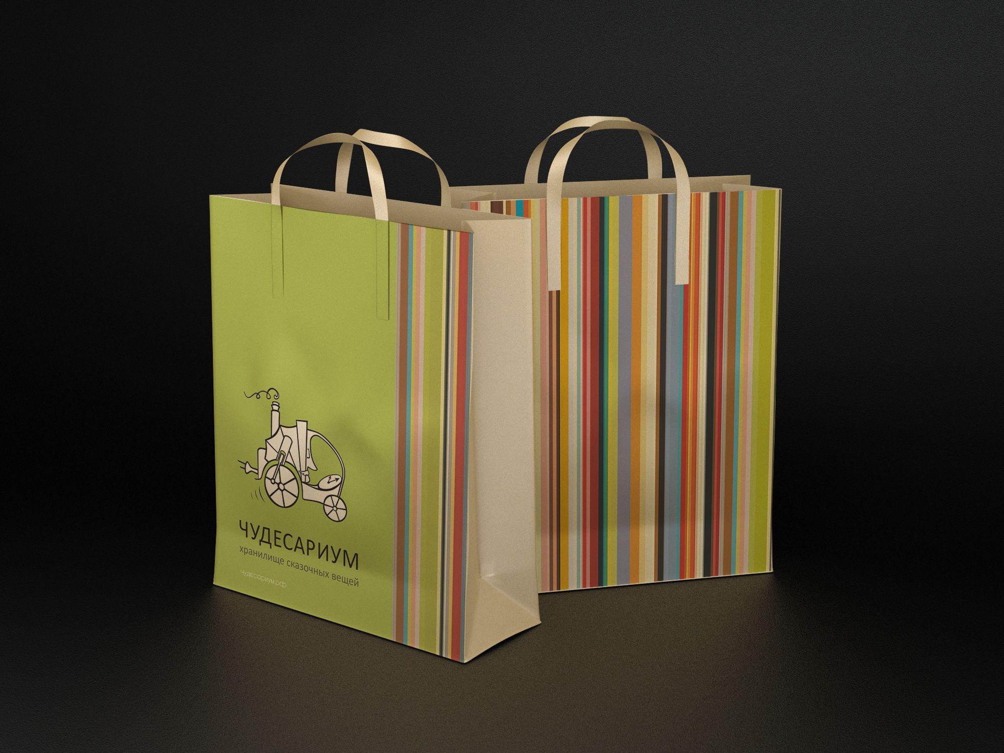 Дизайн фирменного пакета
