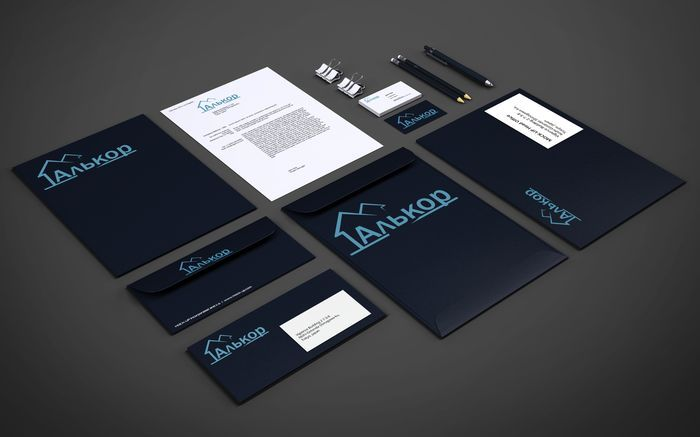 Логотип и фир.стиль для строительной организации - дизайнер Valentina_F