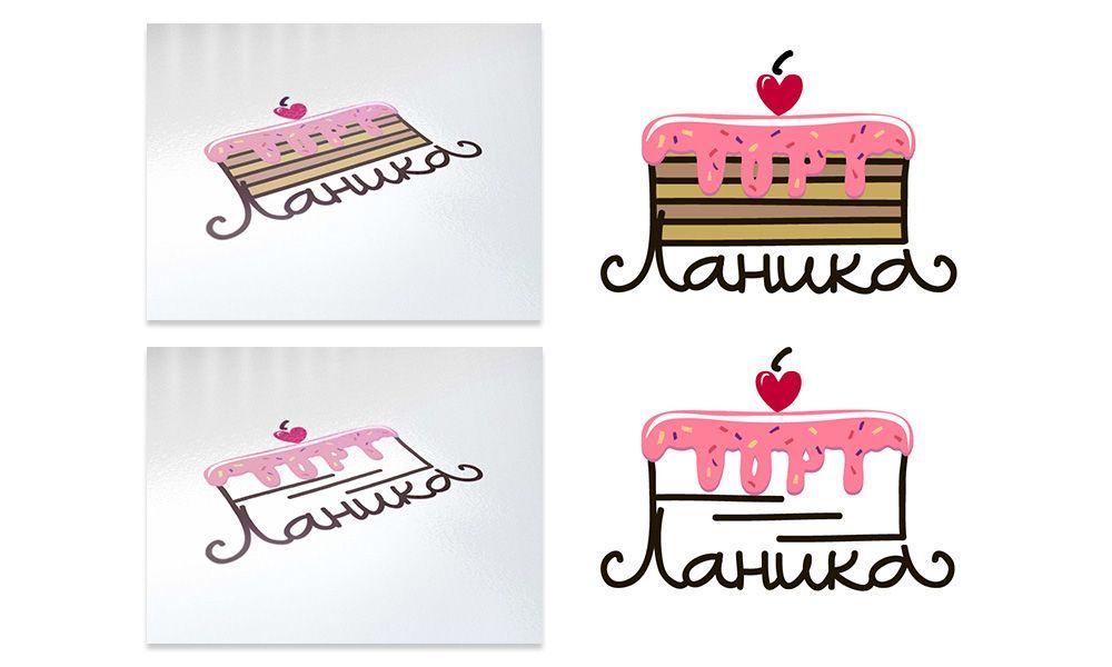 Лого ИМ тортов,пирожных и печенья ручной работы - дизайнер Mellyzzz