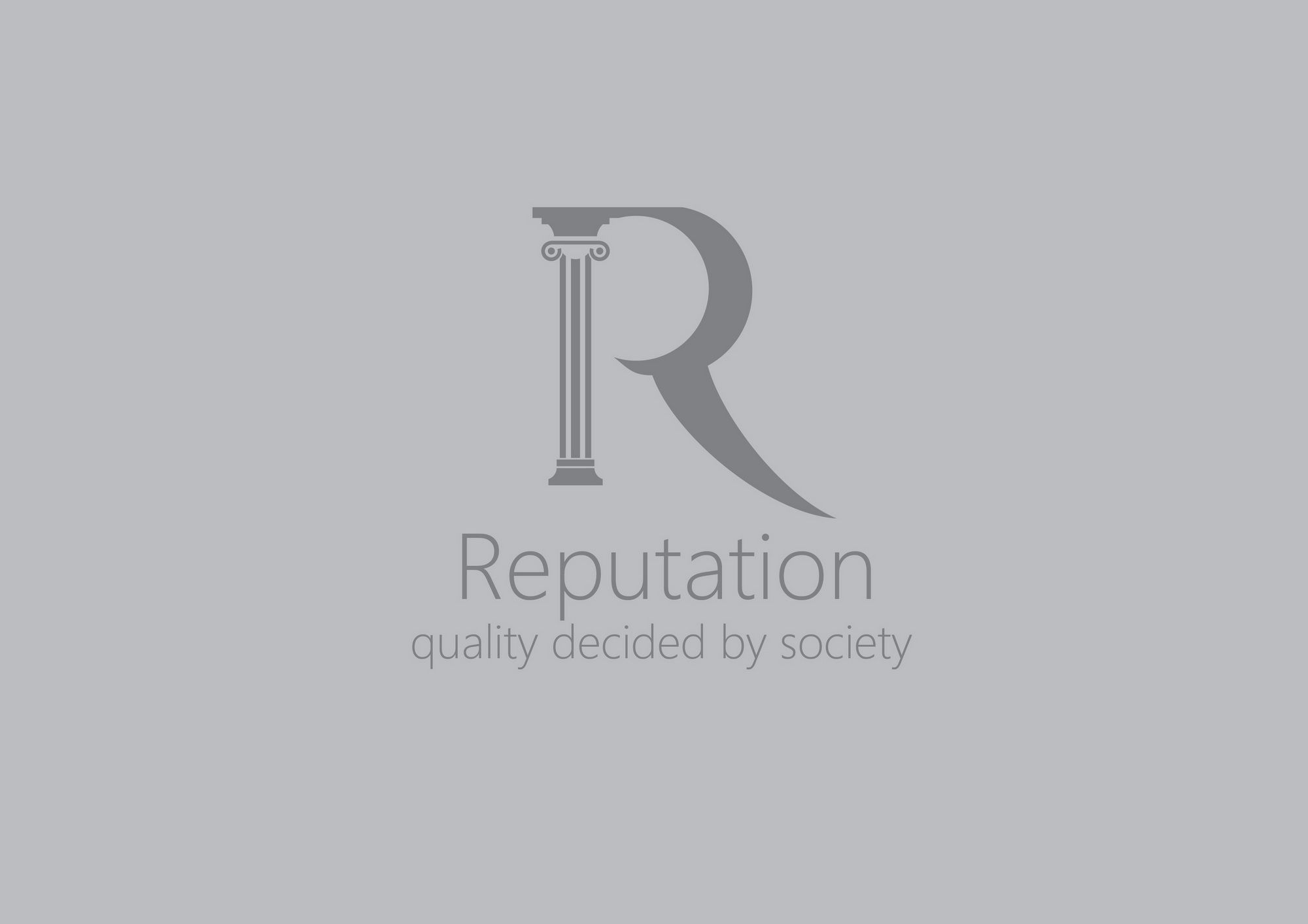 Логотип, визитка и шаблон презентации Reputation - дизайнер kirilln84