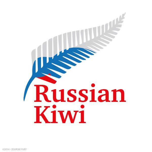 Логотип форума русских эмигрантов в Новой Зеландии - дизайнер Odinus