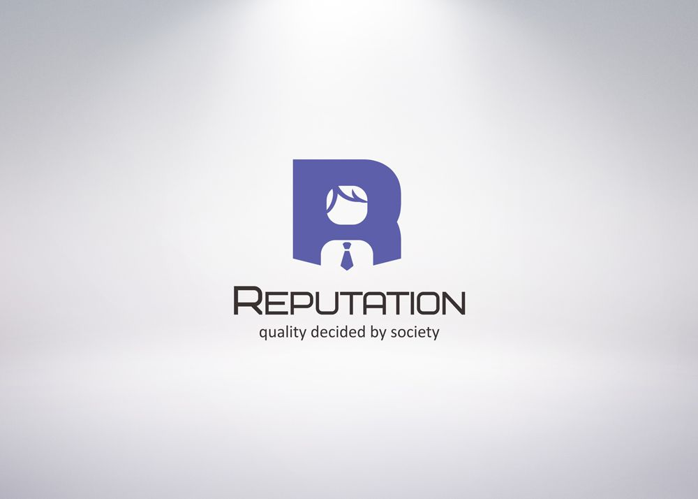 Логотип, визитка и шаблон презентации Reputation - дизайнер Upright