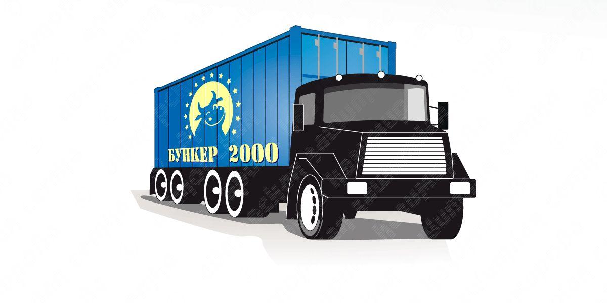 Шаблон раскраски мусорных контейнеров и бункеров - дизайнер flashtuchka