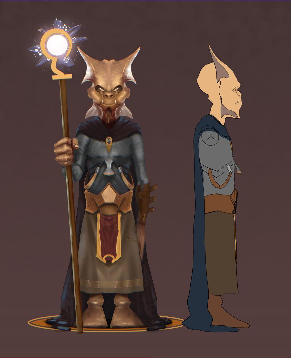 Нужен скетч персонажа для игры - дизайнер RafaelArtist
