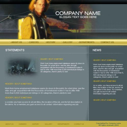 Дизайн сайта рекламного агентства - дизайнер ViTaL1988