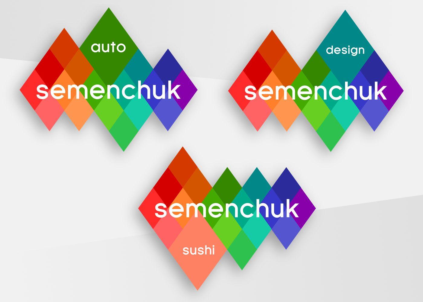 Логотип группы компаний SEMENCHUK - дизайнер CyberGeek