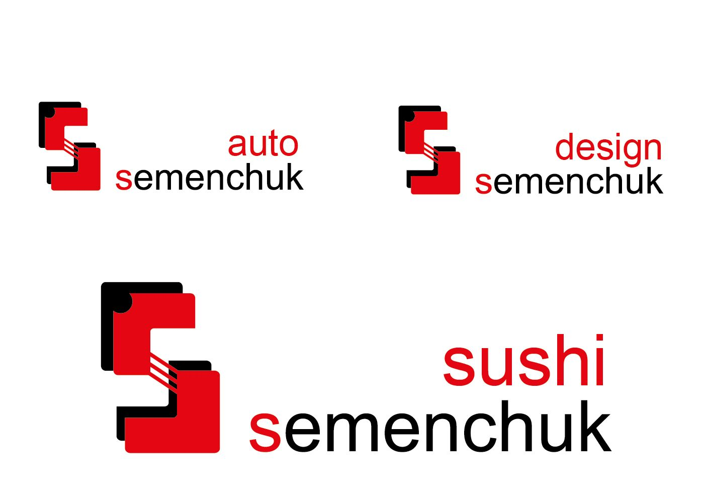 Логотип группы компаний SEMENCHUK - дизайнер good