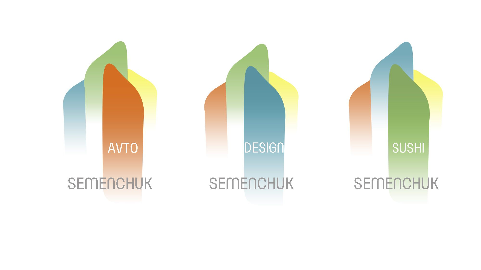 Логотип группы компаний SEMENCHUK - дизайнер vereskveresk