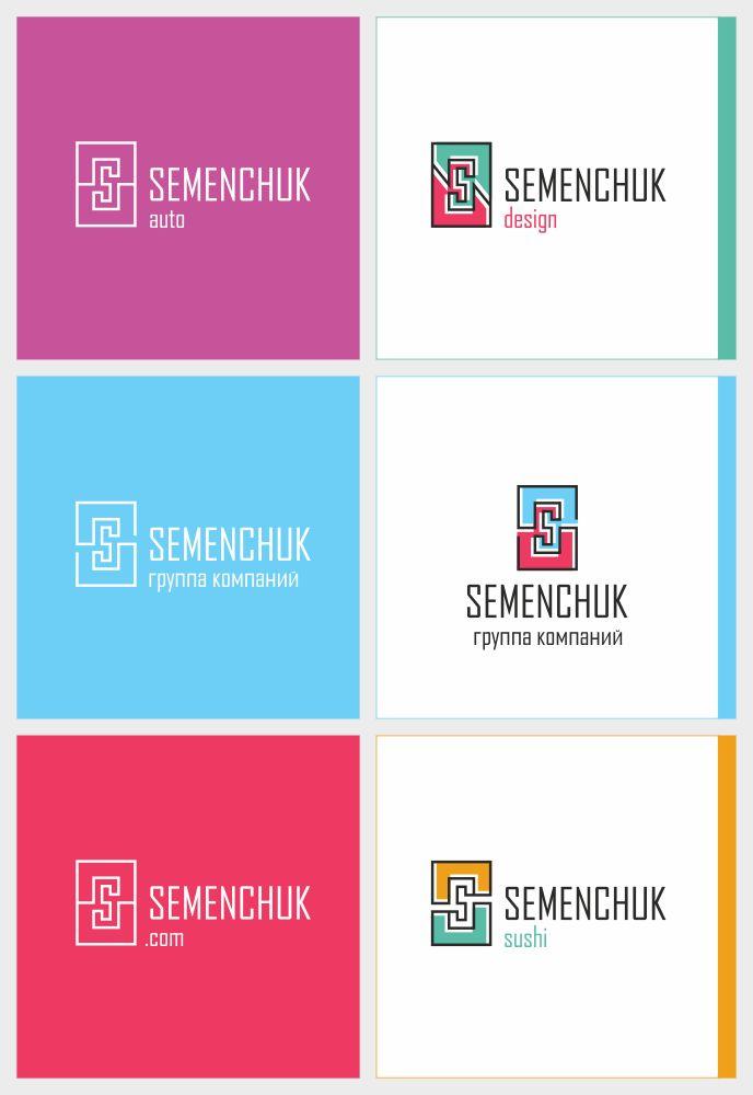 Логотип группы компаний SEMENCHUK - дизайнер smithy-style