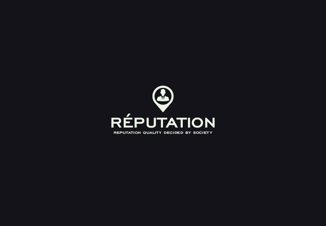 Логотип, визитка и шаблон презентации Reputation - дизайнер GraWorks