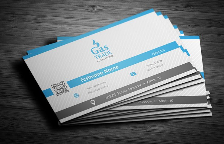 Компания торгующая природным газом - дизайнер Zhe_ka
