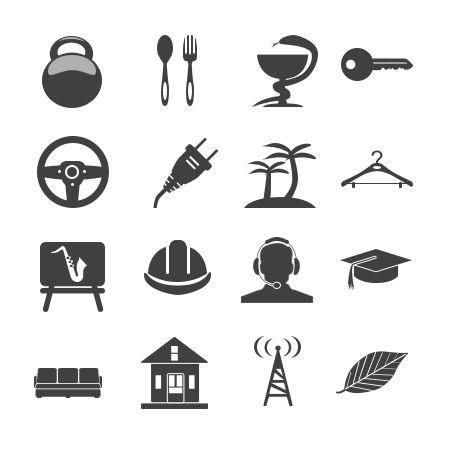 Иконки\кнопки для городского портала - дизайнер Mityai2012