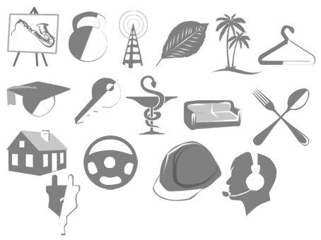 Иконки\кнопки для городского портала - дизайнер LucasKane