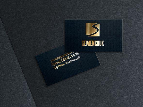 Логотип группы компаний SEMENCHUK - дизайнер art-valeri