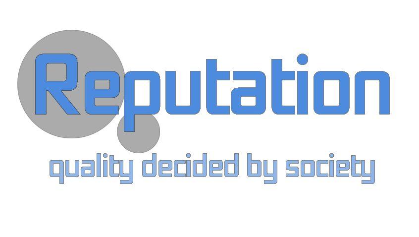 Логотип, визитка и шаблон презентации Reputation - дизайнер Sketch_Ru