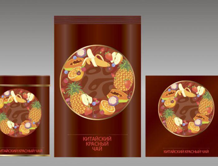 Этикетки для чая - дизайнер zhutol
