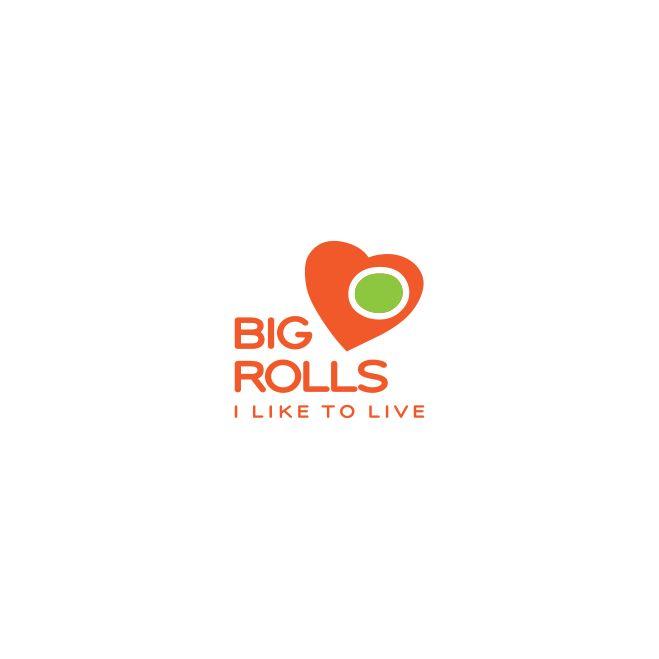 логотип для BigRolls - дизайнер luckylim