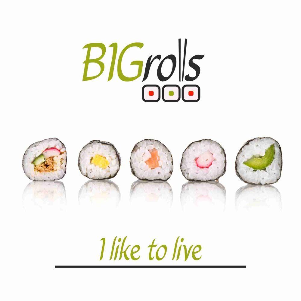 логотип для BigRolls - дизайнер olesia