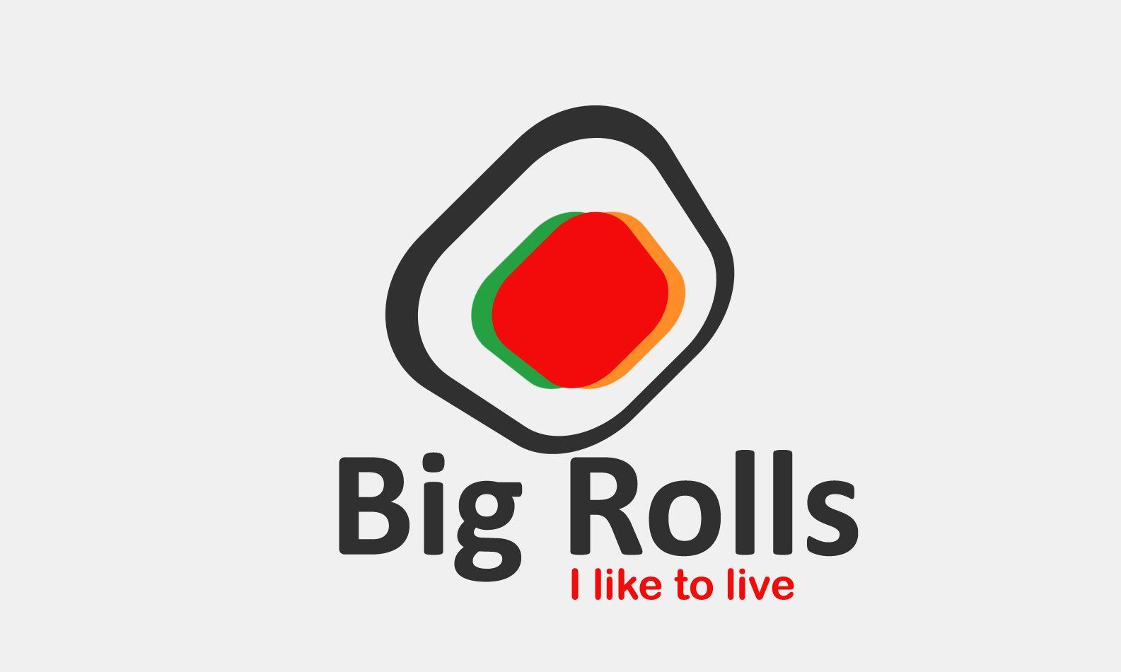 логотип для BigRolls - дизайнер weste32