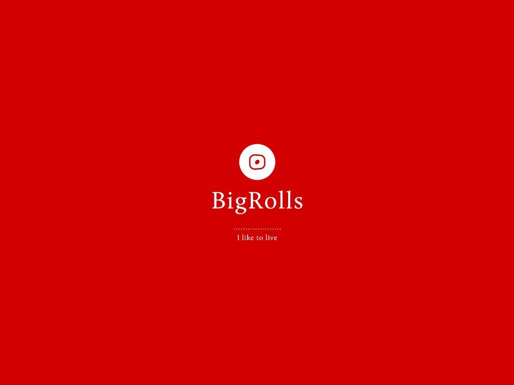 логотип для BigRolls - дизайнер the-alien