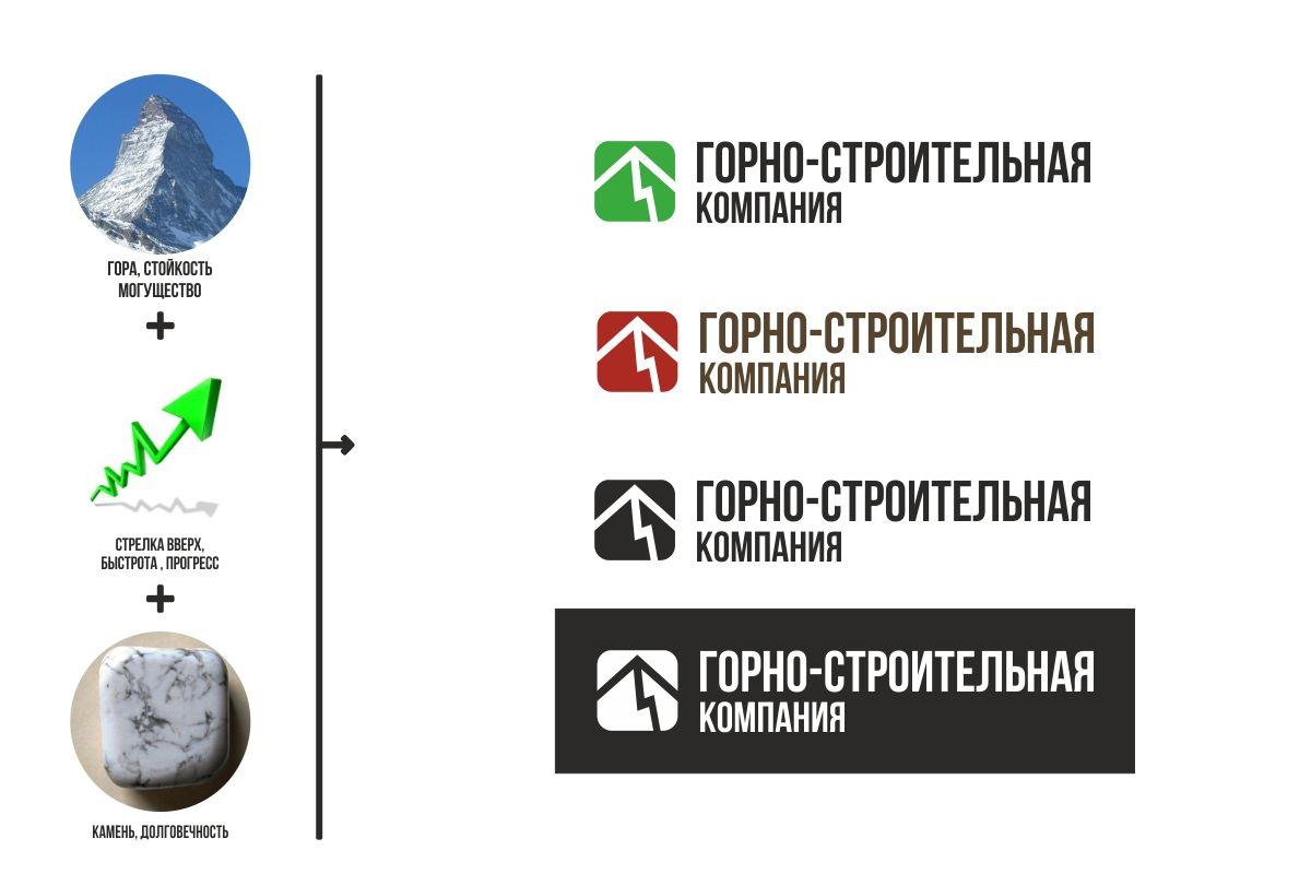 Логотип для Горно-Строительной Компании - дизайнер MrMatroskin