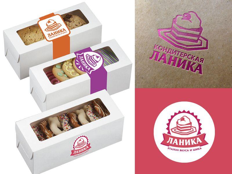 Лого ИМ тортов,пирожных и печенья ручной работы - дизайнер oksygen