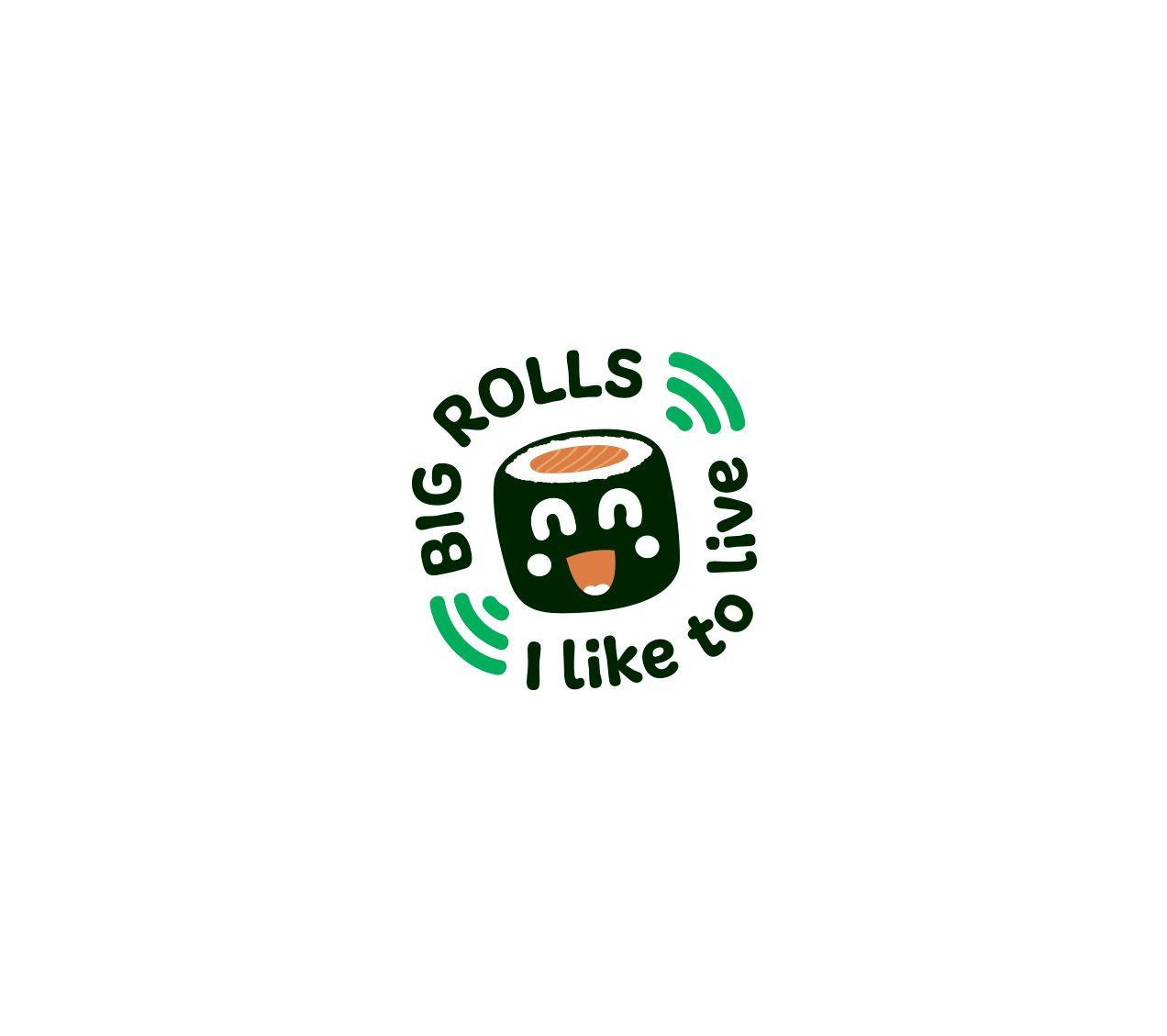логотип для BigRolls - дизайнер wdfiillegal