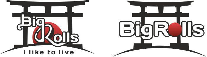 логотип для BigRolls - дизайнер DonChicho