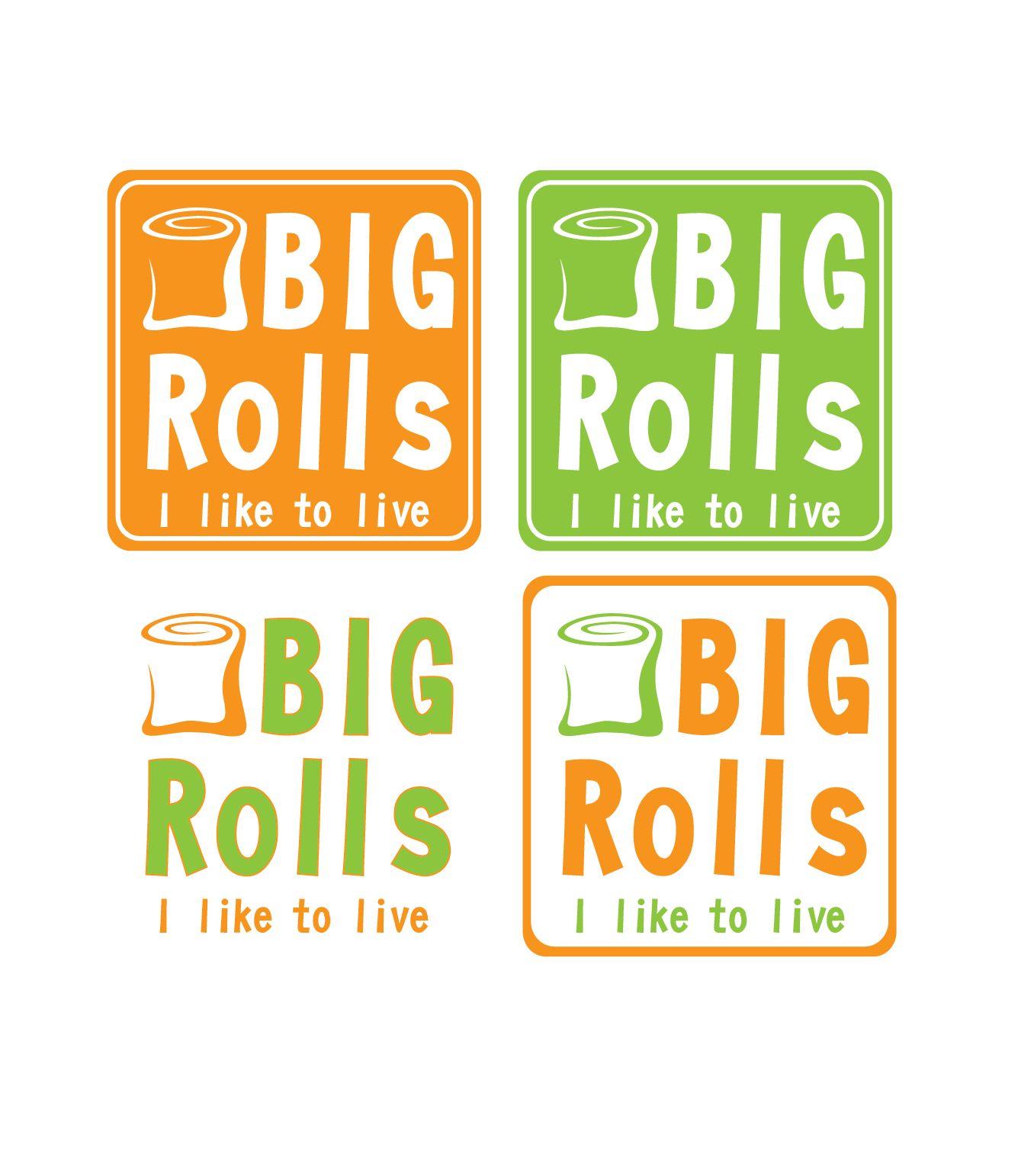 логотип для BigRolls - дизайнер elfeuka