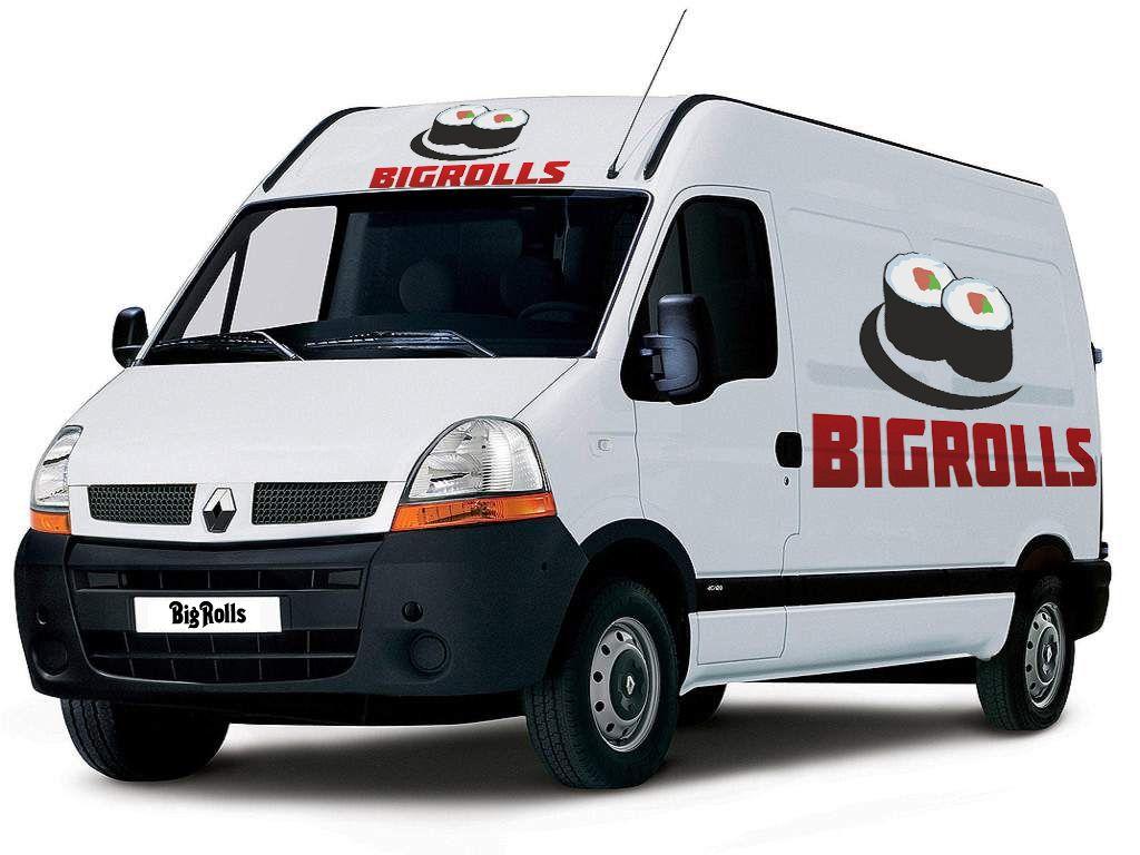 логотип для BigRolls - дизайнер ov07