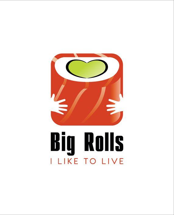 логотип для BigRolls - дизайнер DVKotov