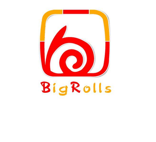 логотип для BigRolls - дизайнер Keroberas