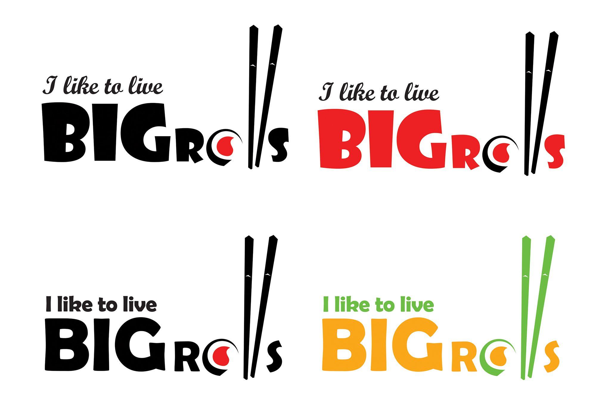 логотип для BigRolls - дизайнер valeriana_88