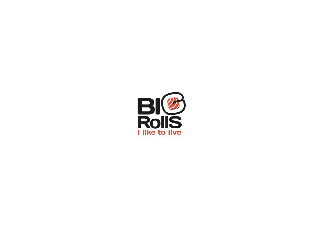 логотип для BigRolls - дизайнер Daryma
