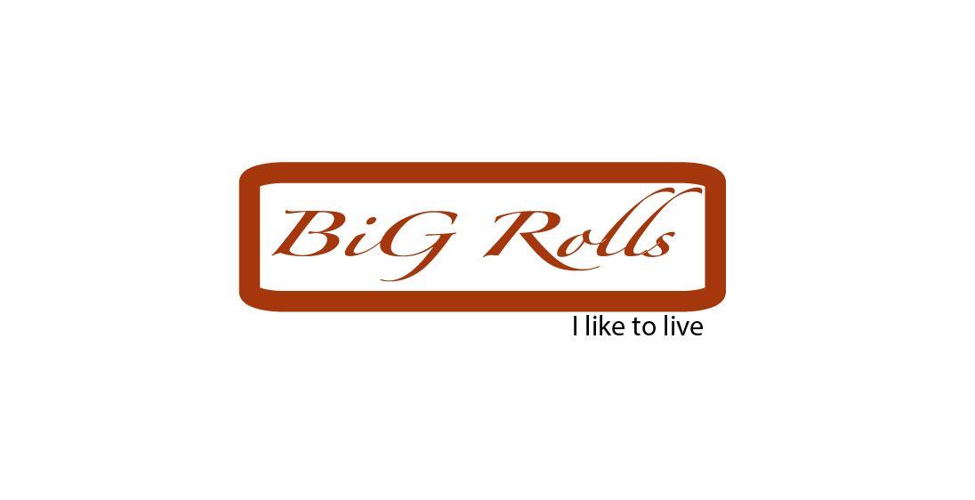 логотип для BigRolls - дизайнер silence