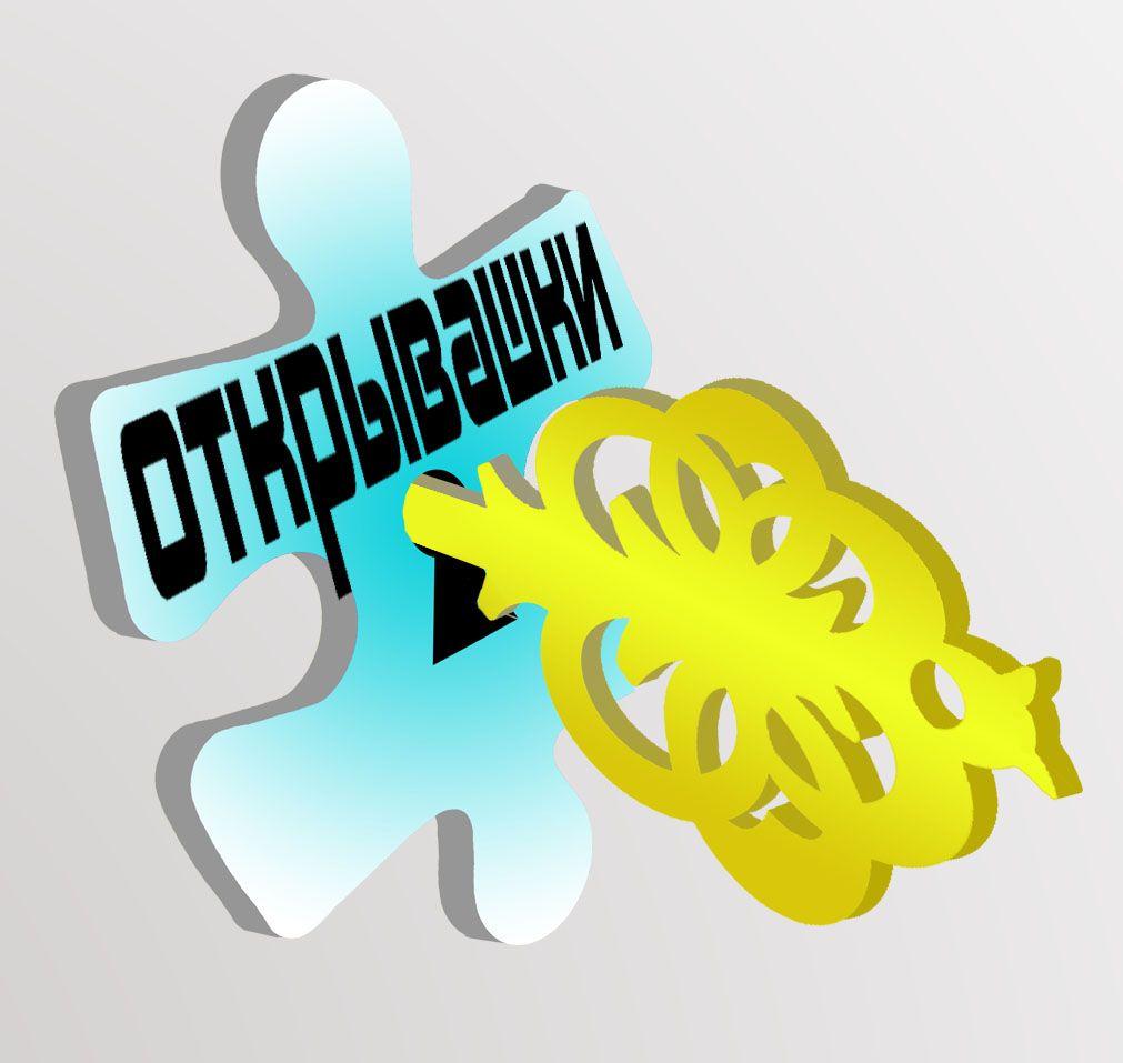 Логотип и цветовая гамма развлекательного проекта - дизайнер Velo16
