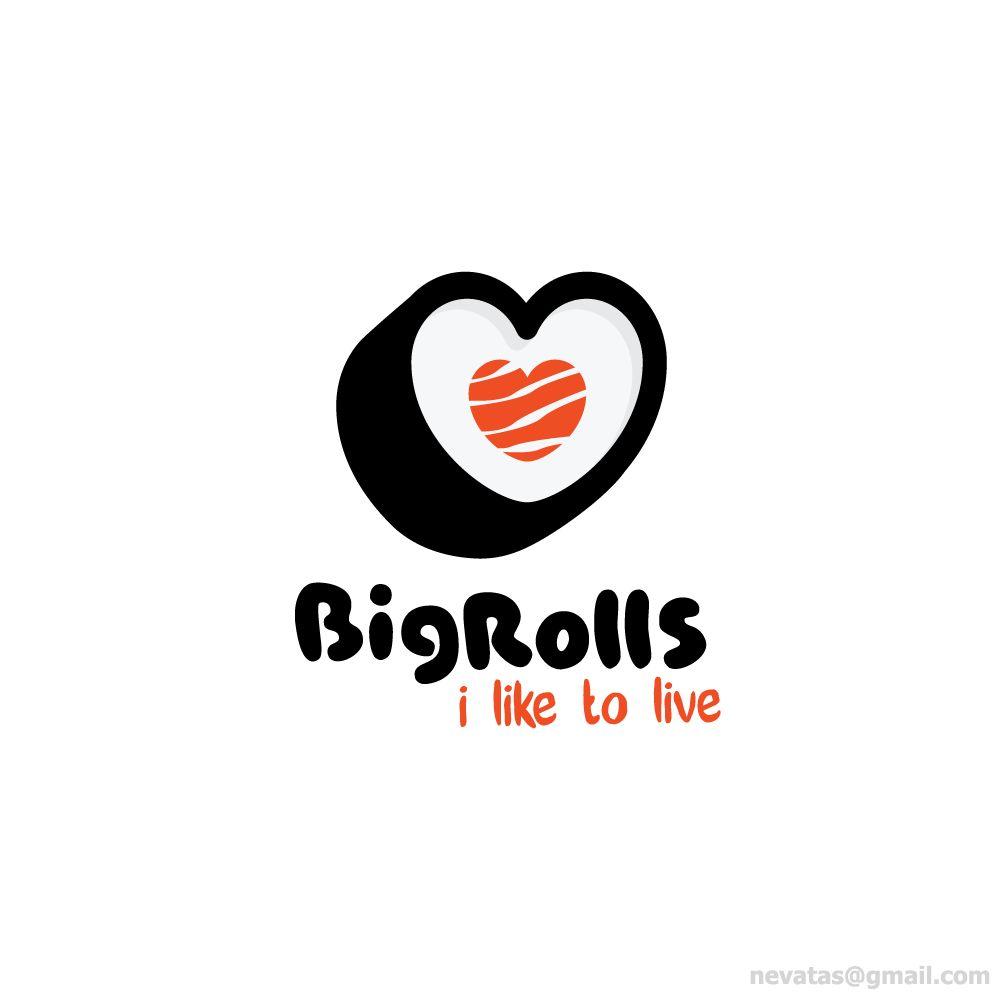 логотип для BigRolls - дизайнер nevatas