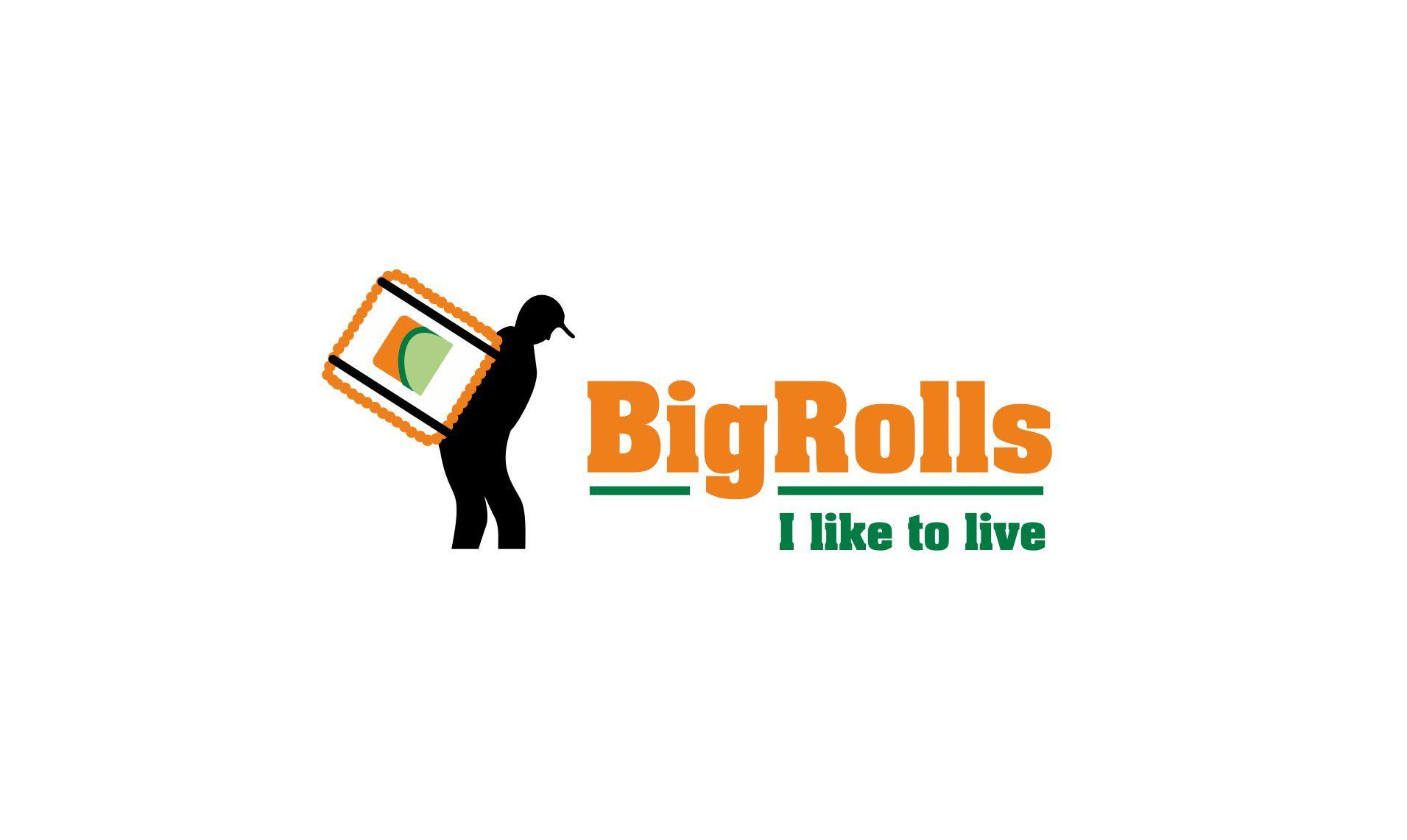 логотип для BigRolls - дизайнер lum1x94