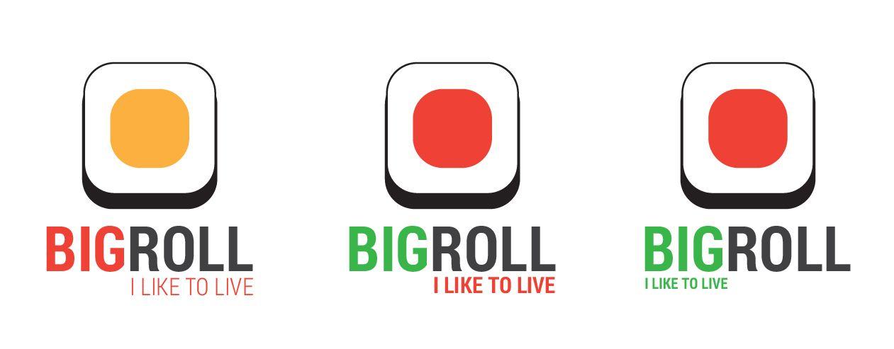 логотип для BigRolls - дизайнер DynamicMotion