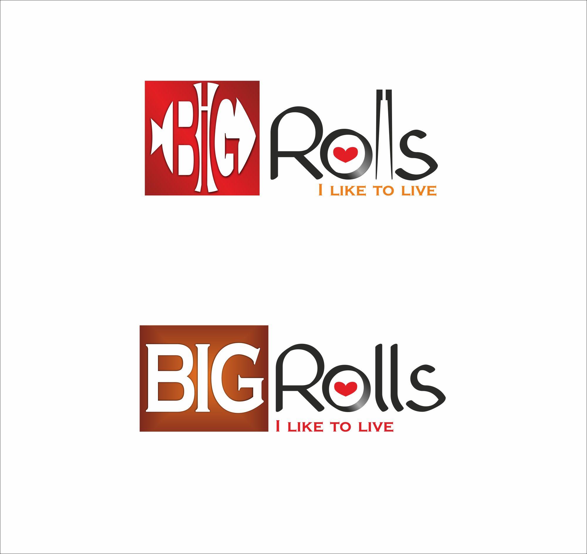 логотип для BigRolls - дизайнер byka-ve7rov