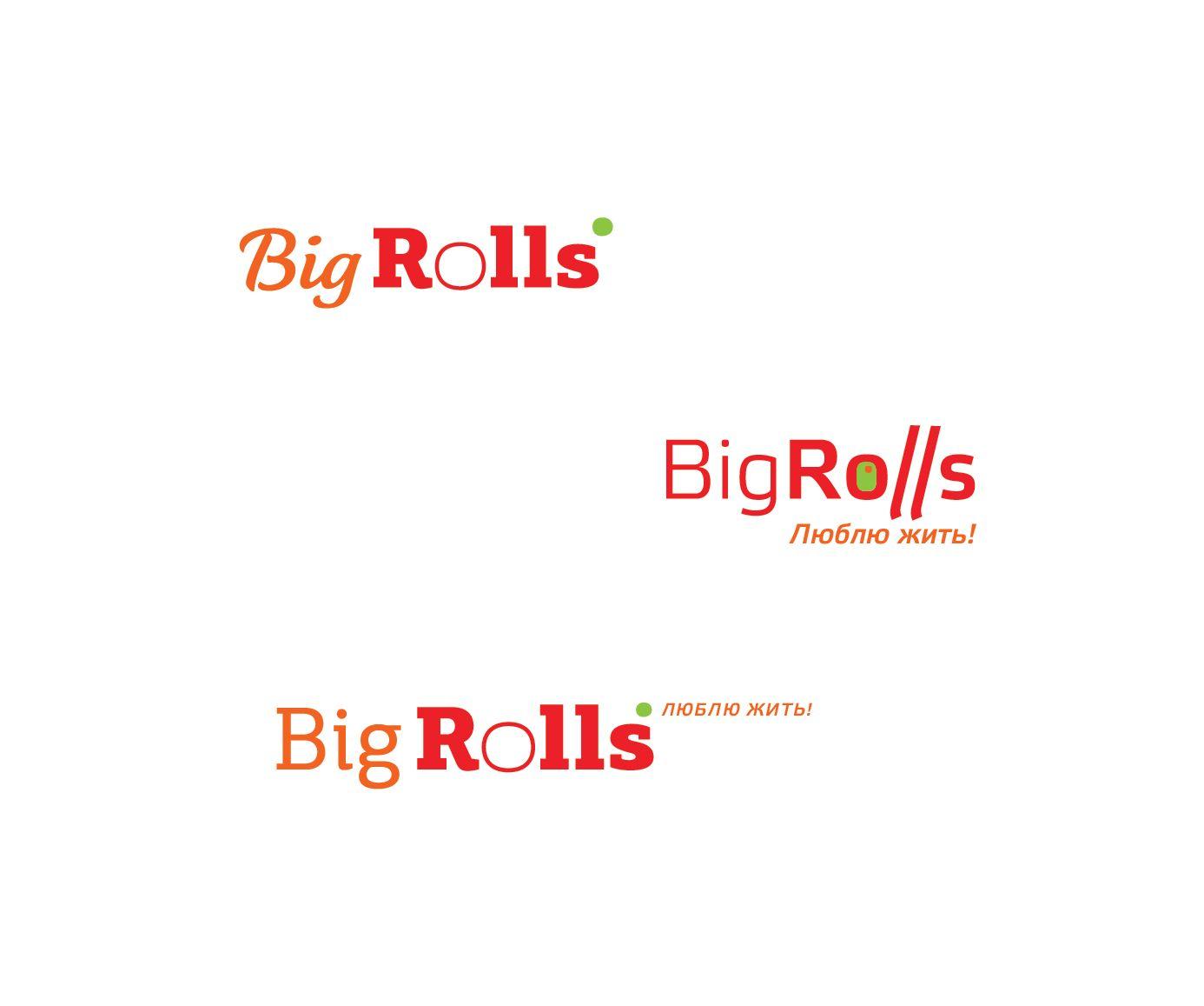 логотип для BigRolls - дизайнер Varvara33