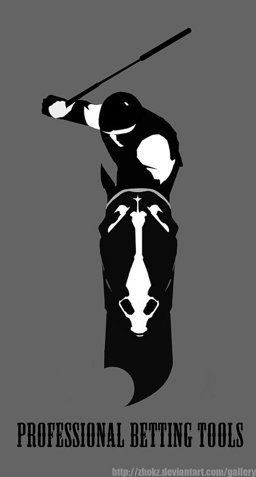 Образ лошади в логотипе (спортивная аналитика) - дизайнер elfenoir