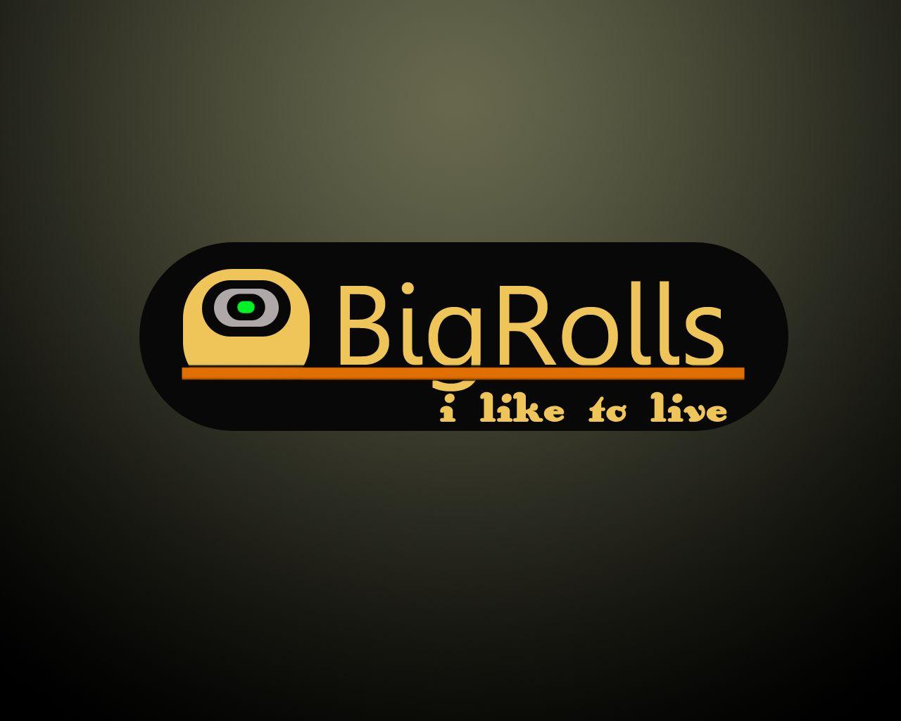 логотип для BigRolls - дизайнер VadimHATE