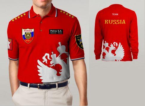 Макет спортивной одежды для региональной команды - дизайнер hasl