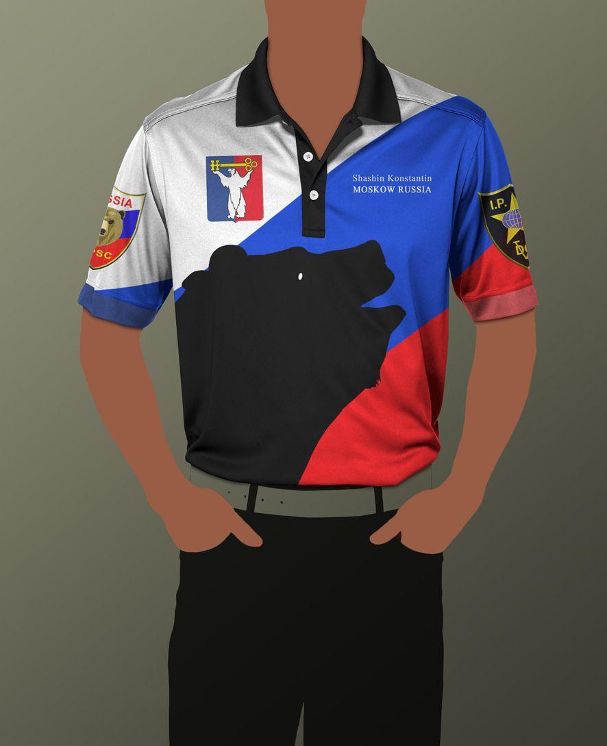 Макет спортивной одежды для региональной команды - дизайнер composter